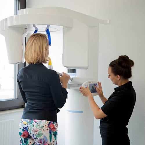 Zahnarzt Moabit - Mitic - Röntgen in unserer Praxis